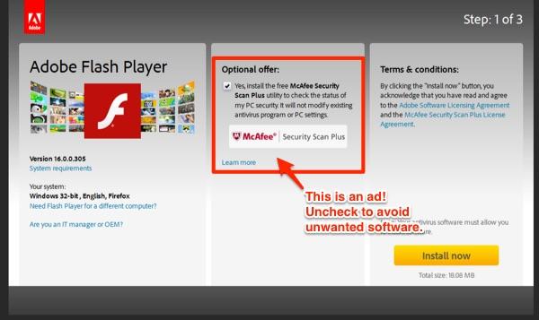 Adobe Advertisements