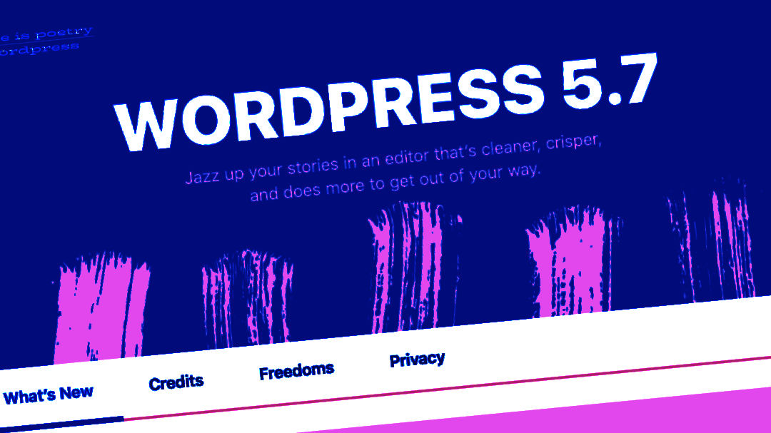 WordPress 5.7 Featured Image